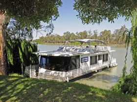 Moving Waters Self Contained Moored Houseboat - Accommodation Directory