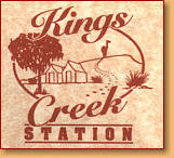 Kings Creek Station - Accommodation Directory