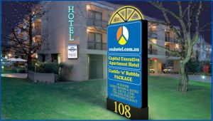 Capital Executive Apartment Hotel - Accommodation Directory